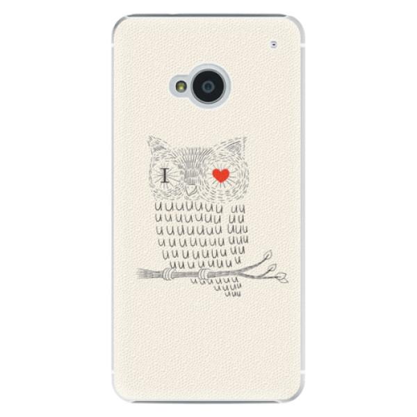 Plastové puzdro iSaprio - I Love You 01 - HTC One M7