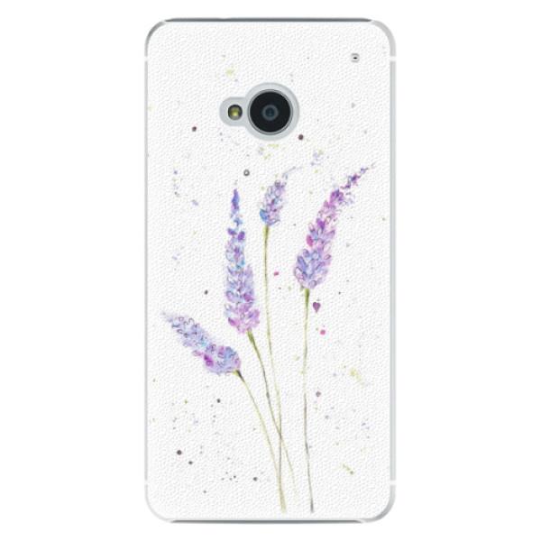 Plastové puzdro iSaprio - Lavender - HTC One M7