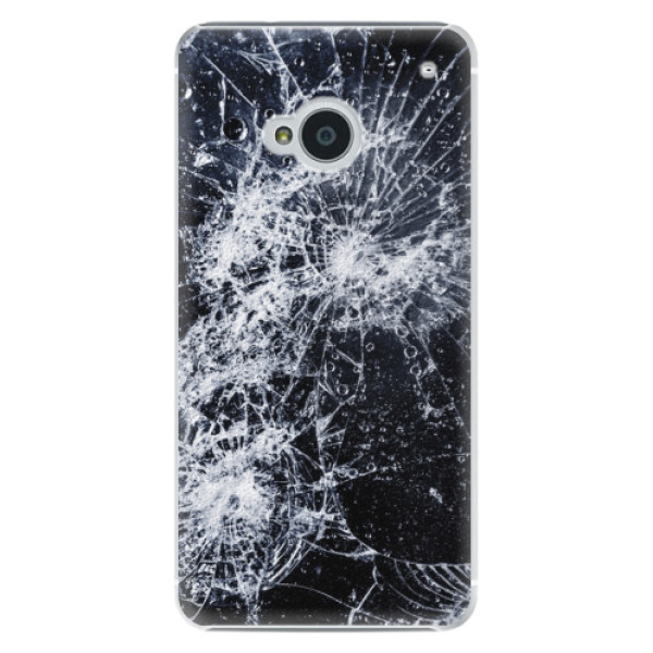 Plastové puzdro iSaprio - Cracked - HTC One M7