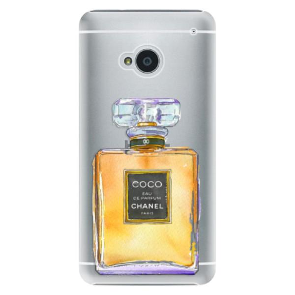 Plastové puzdro iSaprio - Chanel Gold - HTC One M7