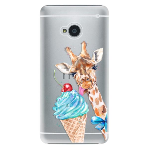 Plastové puzdro iSaprio - Love Ice-Cream - HTC One M7