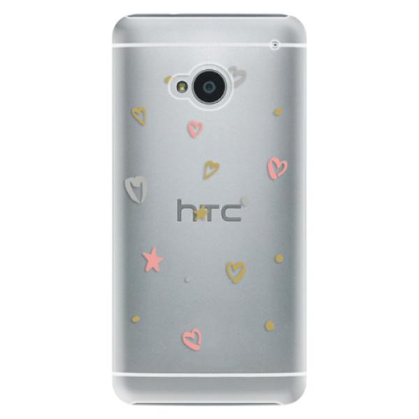 Plastové puzdro iSaprio - Lovely Pattern - HTC One M7