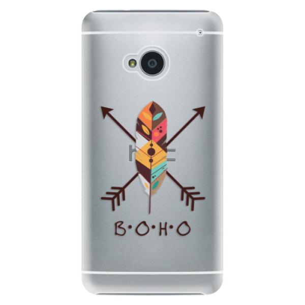 Plastové puzdro iSaprio - BOHO - HTC One M7
