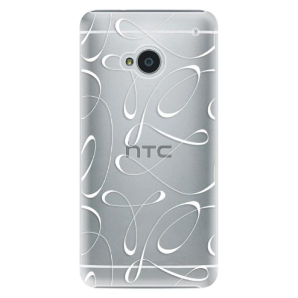 Plastové puzdro iSaprio - Fancy - white - HTC One M7