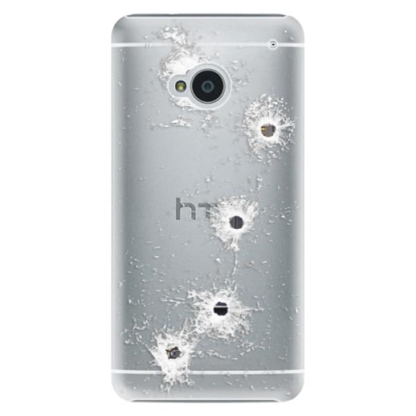 Plastové puzdro iSaprio - Gunshots - HTC One M7
