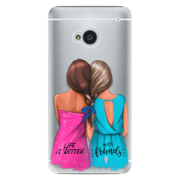 Plastové puzdro iSaprio - Best Friends - HTC One M7