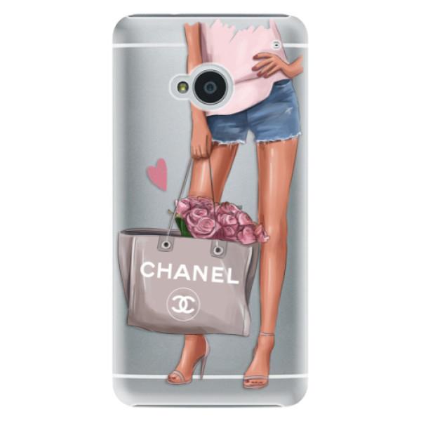 Plastové puzdro iSaprio - Fashion Bag - HTC One M7