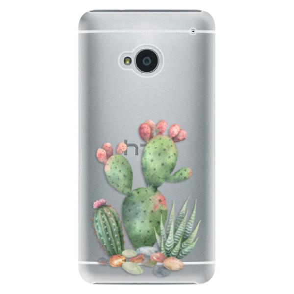 Plastové puzdro iSaprio - Cacti 01 - HTC One M7