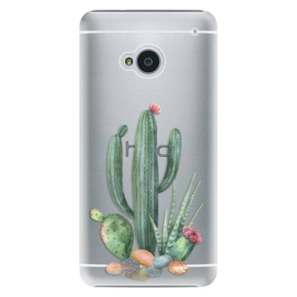 Plastové puzdro iSaprio - Cacti 02 - HTC One M7