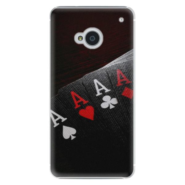 Plastové puzdro iSaprio - Poker - HTC One M7
