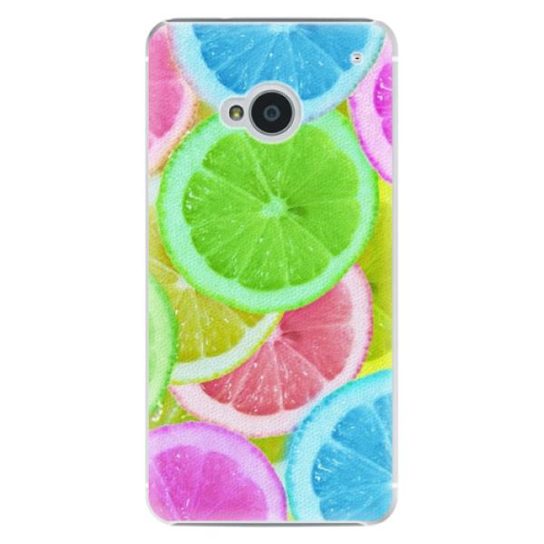 Plastové puzdro iSaprio - Lemon 02 - HTC One M7