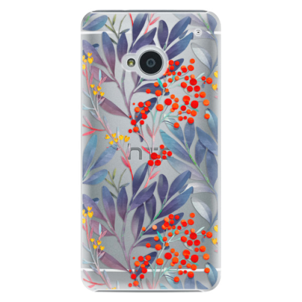 Plastové puzdro iSaprio - Rowanberry - HTC One M7