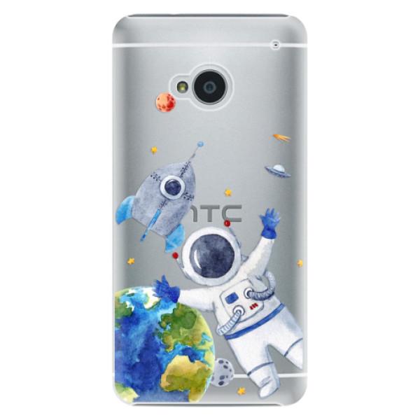 Plastové puzdro iSaprio - Space 05 - HTC One M7