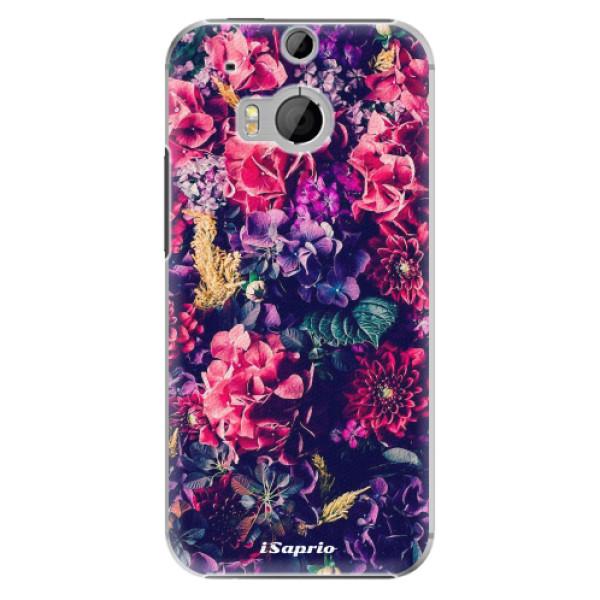 Plastové puzdro iSaprio - Flowers 10 - HTC One M8