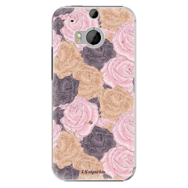 Plastové puzdro iSaprio - Roses 03 - HTC One M8