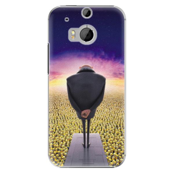 Plastové puzdro iSaprio - Gru - HTC One M8