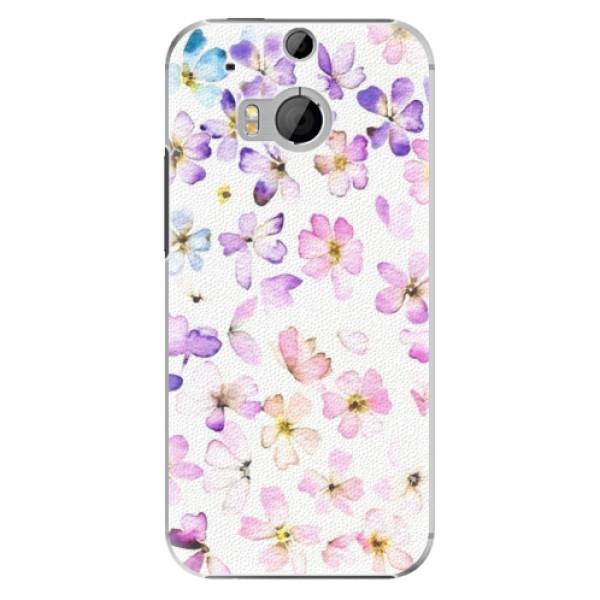 Plastové puzdro iSaprio - Wildflowers - HTC One M8