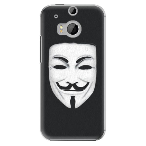 Plastové puzdro iSaprio - Vendeta - HTC One M8