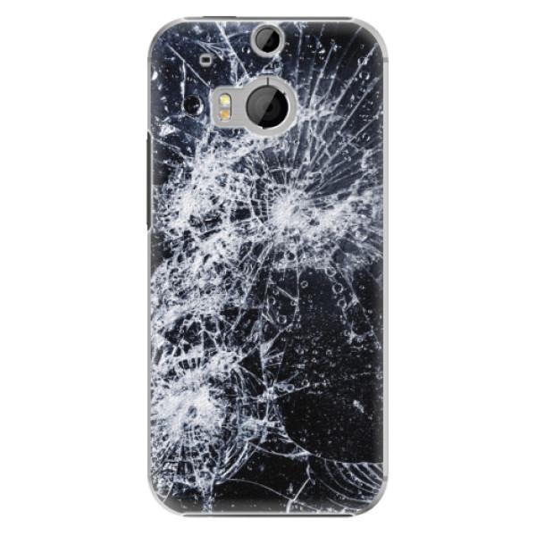 Plastové puzdro iSaprio - Cracked - HTC One M8