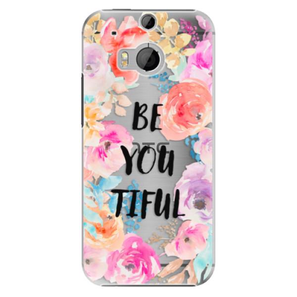 Plastové puzdro iSaprio - BeYouTiful - HTC One M8