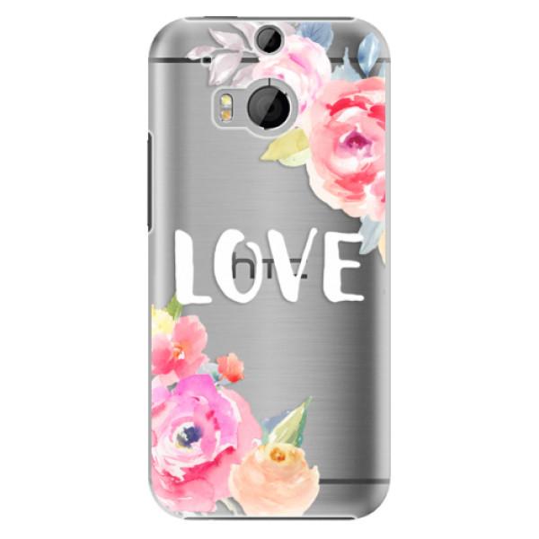 Plastové puzdro iSaprio - Love - HTC One M8