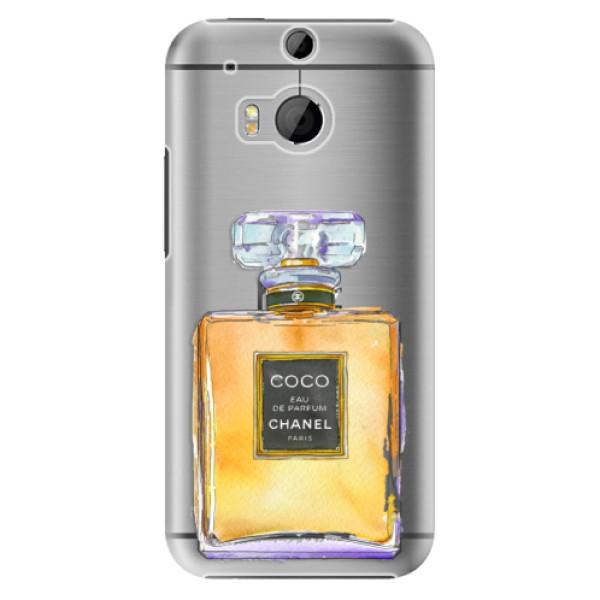 Plastové puzdro iSaprio - Chanel Gold - HTC One M8
