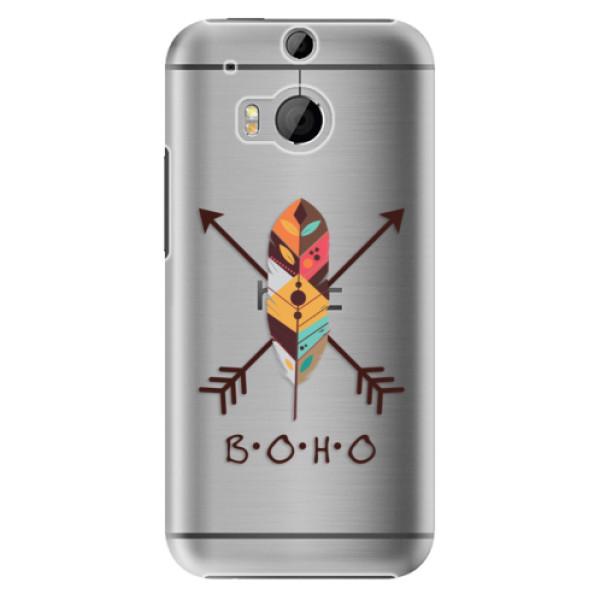 Plastové puzdro iSaprio - BOHO - HTC One M8