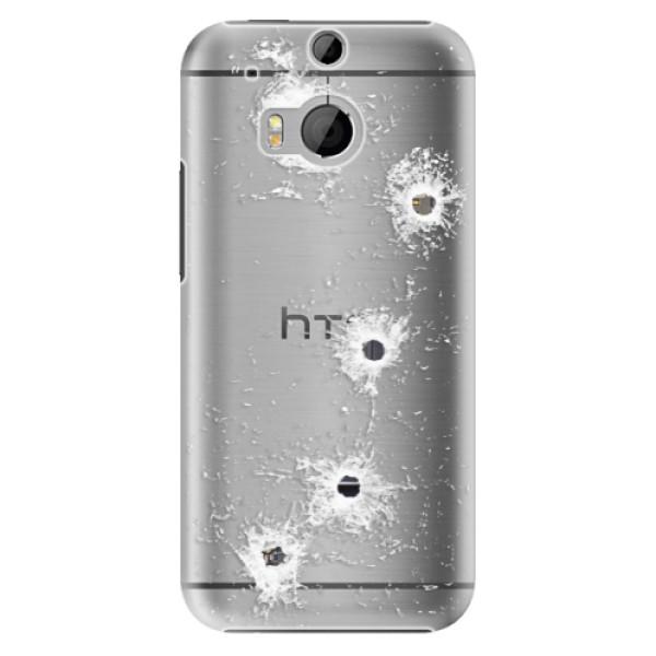 Plastové puzdro iSaprio - Gunshots - HTC One M8