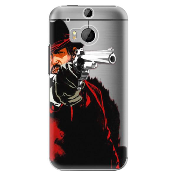 Plastové puzdro iSaprio - Red Sheriff - HTC One M8