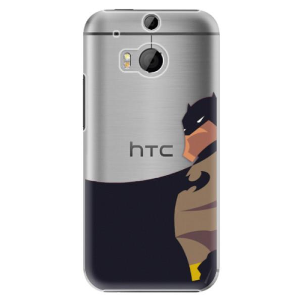 Plastové puzdro iSaprio - BaT Comics - HTC One M8