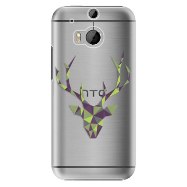Plastové puzdro iSaprio - Deer Green - HTC One M8