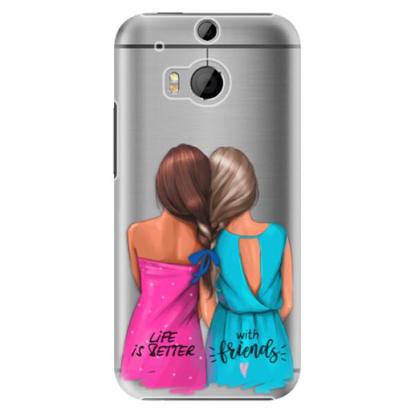 Plastové puzdro iSaprio - Best Friends - HTC One M8