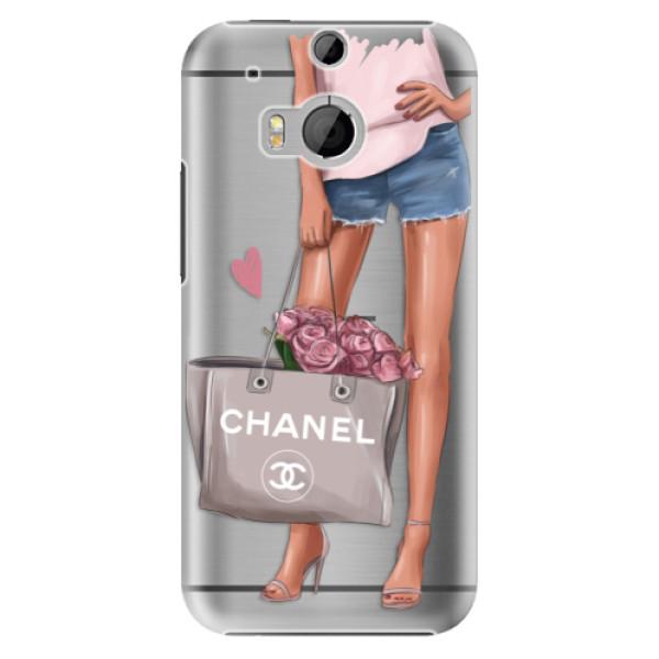 Plastové puzdro iSaprio - Fashion Bag - HTC One M8