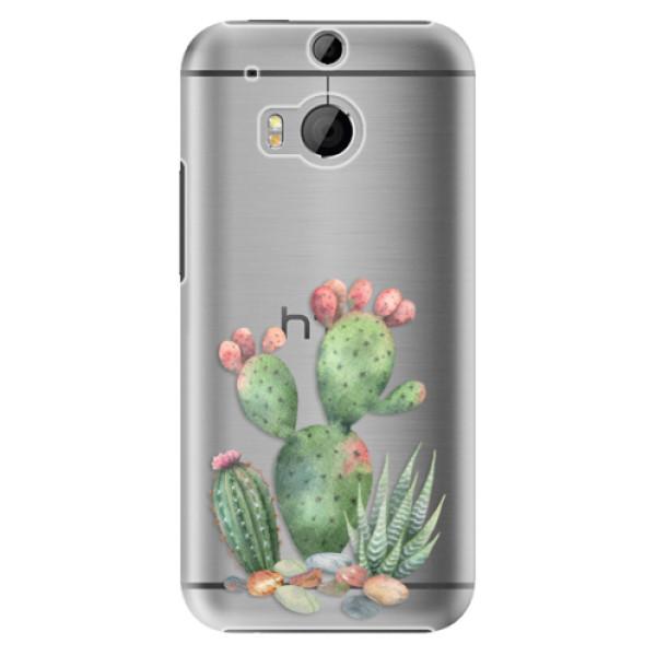 Plastové puzdro iSaprio - Cacti 01 - HTC One M8