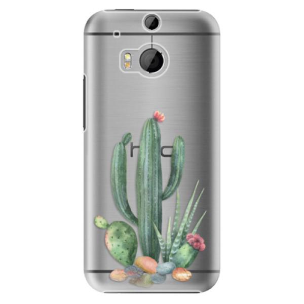 Plastové puzdro iSaprio - Cacti 02 - HTC One M8