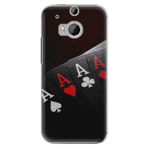 Plastové puzdro iSaprio - Poker - HTC One M8