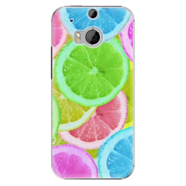 Plastové puzdro iSaprio - Lemon 02 - HTC One M8