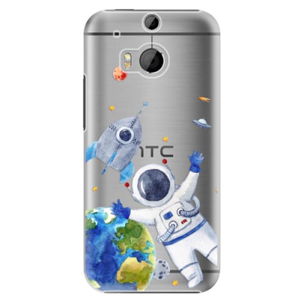 Plastové puzdro iSaprio - Space 05 - HTC One M8