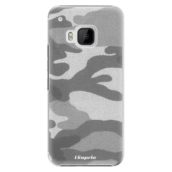 Plastové puzdro iSaprio - Gray Camuflage 02 - HTC One M9