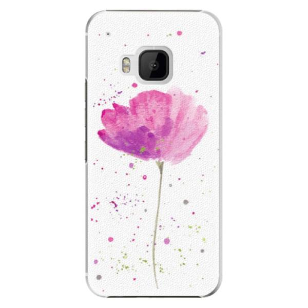 Plastové puzdro iSaprio - Poppies - HTC One M9