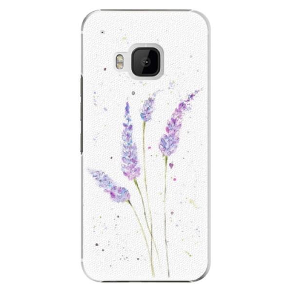 Plastové puzdro iSaprio - Lavender - HTC One M9