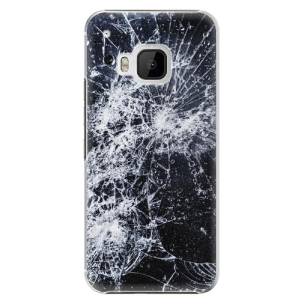 Plastové puzdro iSaprio - Cracked - HTC One M9