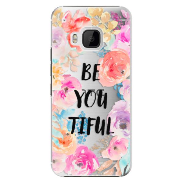 Plastové puzdro iSaprio - BeYouTiful - HTC One M9