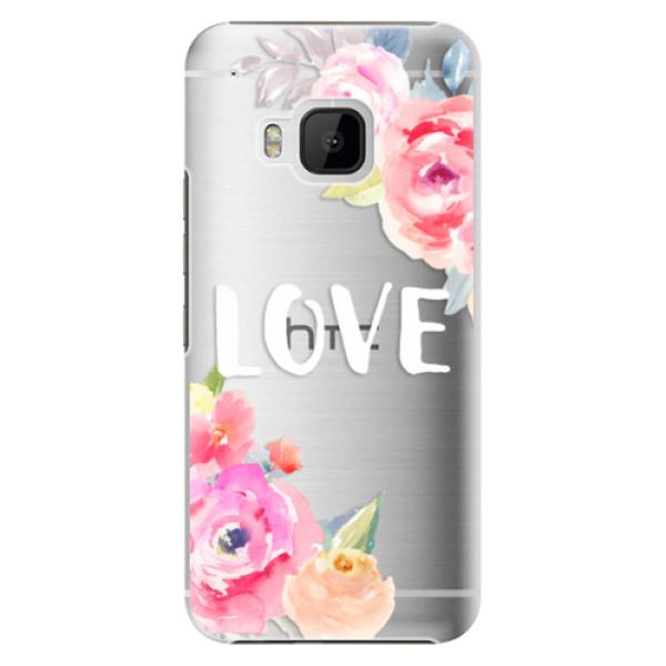 Plastové puzdro iSaprio - Love - HTC One M9