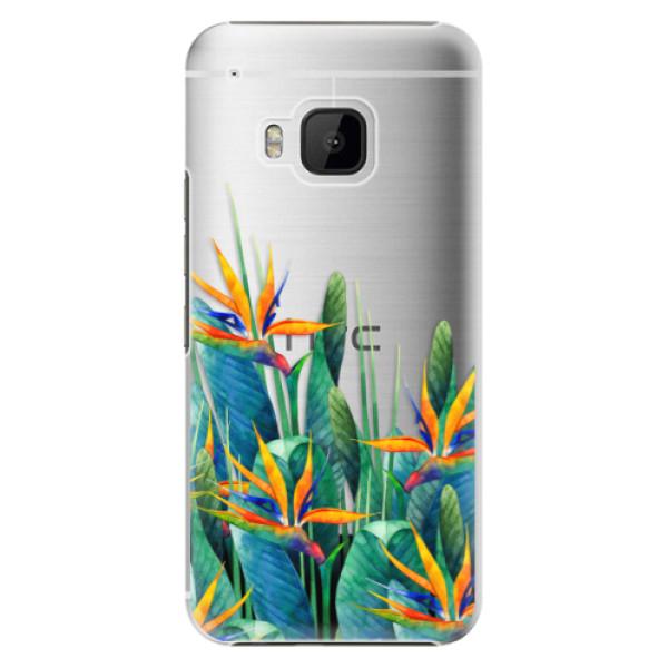 Plastové puzdro iSaprio - Exotic Flowers - HTC One M9