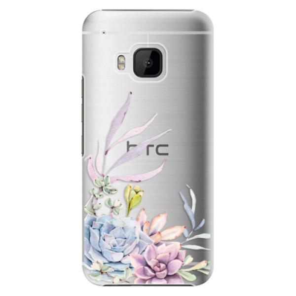 Plastové puzdro iSaprio - Succulent 01 - HTC One M9