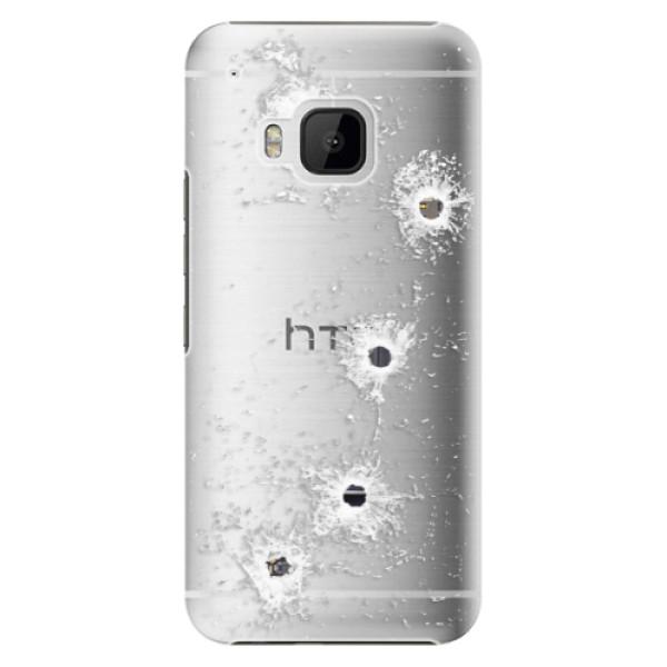 Plastové puzdro iSaprio - Gunshots - HTC One M9