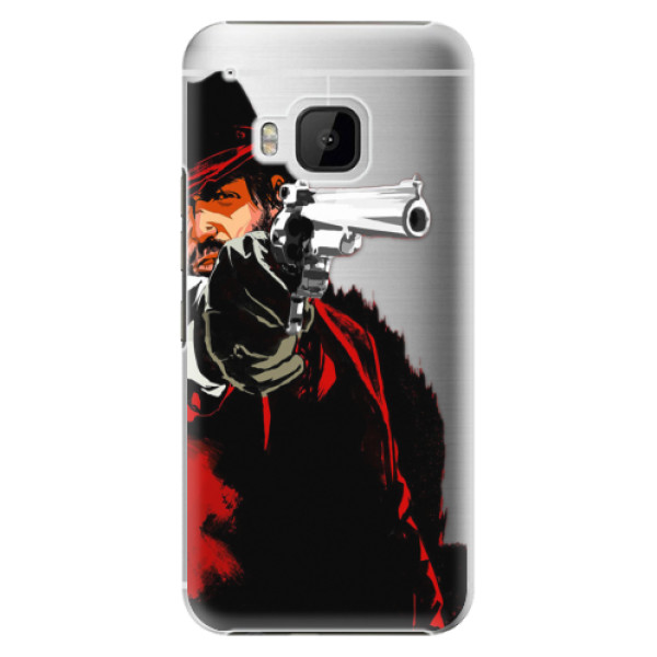 Plastové puzdro iSaprio - Red Sheriff - HTC One M9