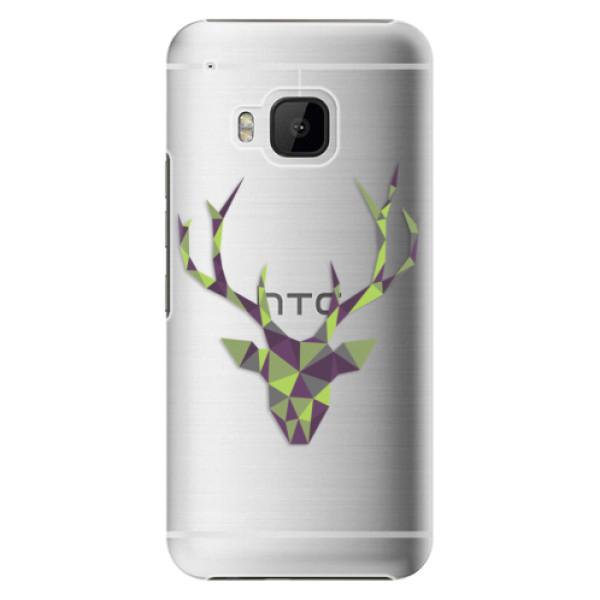 Plastové puzdro iSaprio - Deer Green - HTC One M9