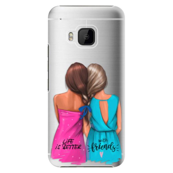 Plastové puzdro iSaprio - Best Friends - HTC One M9